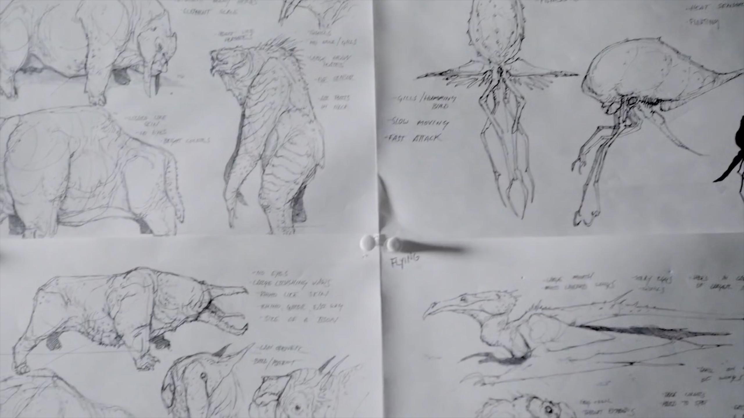 Star Citizen Alien Animal Concepts   BoredGamer