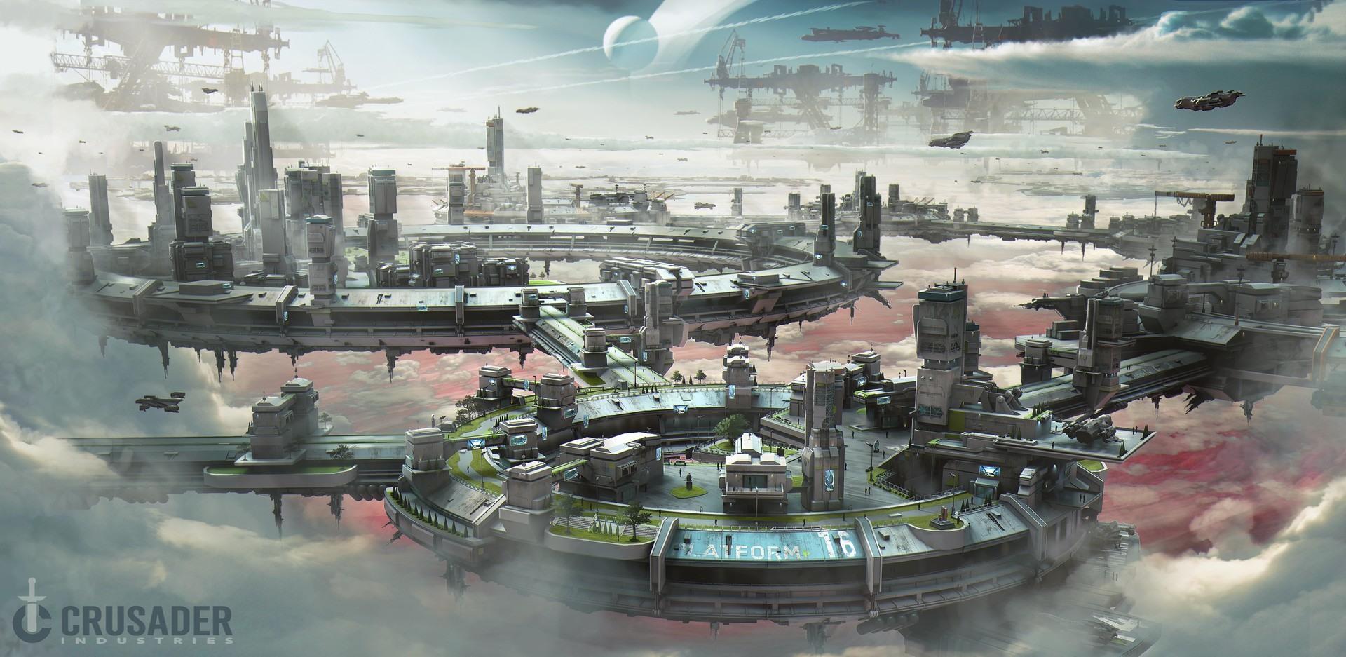 Star Citizen Sneak Peek | Planet Crusader & Orison | BoredGamer