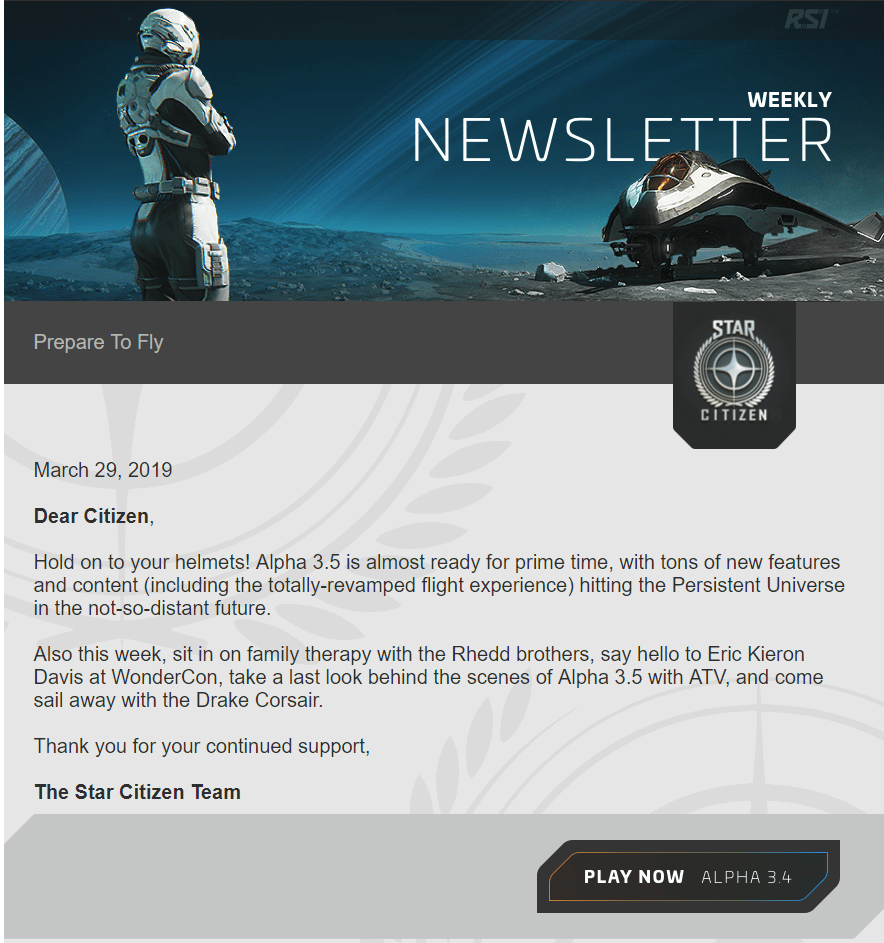Star Citizen 3 5 0 PTU OUT TO ALL BACKERS | BoredGamer